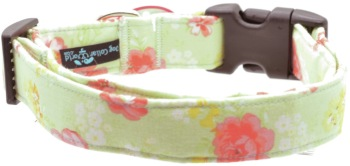 Green and Coral Floral Collar (DO-GREENCORALFLOR)