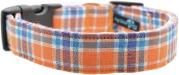 Orange & Blue Plaid Collar (DO-OBPLAID)