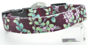 Plum Floral Collar (DO-PLUMFLRL)