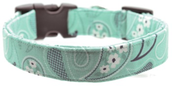 Aqua Bandana Collar (DO-AQUABNDN)