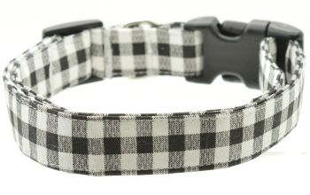 Black Gingham Collar (DO-BLACKGINGHAM)