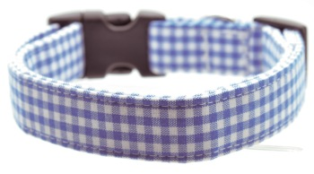 Blue Mini Gingham Collar (DO-BLUEMINIGINGHAM)