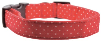 Red Pin Dot Collar (DO-REDPINDOT)
