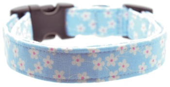 Sky Blue Daisy Collar (DO-SKYBLUEDAISY)