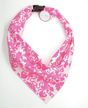 Pink Damask Scarf (DO-PINKDAMASKSCRF)