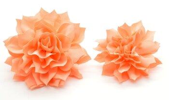 Peach Fluffy Flower (DO-FLUFFYPEACH)