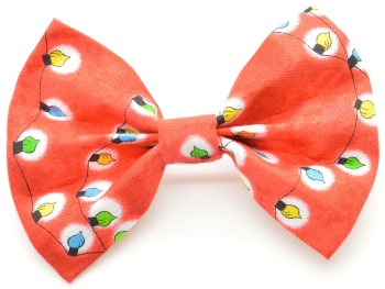 Red Christmas Light Bow Tie (DO-CHRISTMASLIGHTBOW)