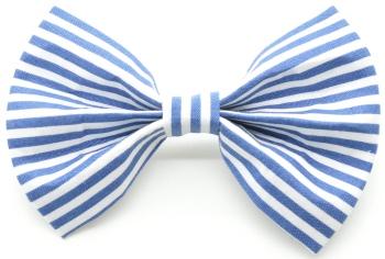 Nautical Blue Stripe Bow Tie (DO-NAUTICALSTRIPEBOW)