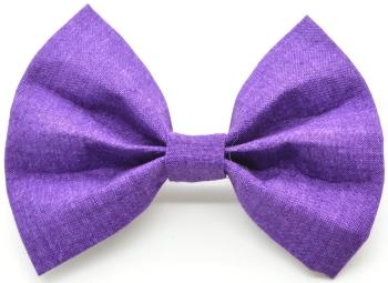 Solid Purple Bow Tie (DO-PURPLEBOW)