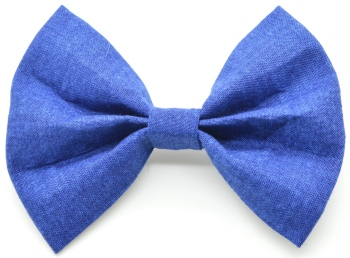Solid Royal Blue Bow Tie (DO-ROYALBLUEBOW)