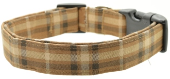 Brown Plaid Collar (DO-BROWNPLAID)