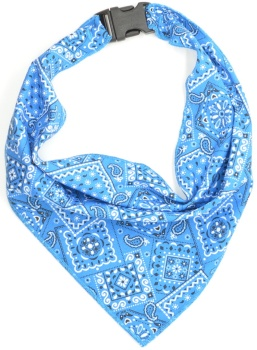 Blue Bandana Scarf (DO-BLUEBANDANASCRF)