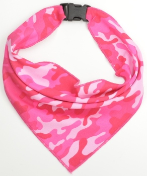 Pink Camouflage Scarf (DO-PINKCAMOSCARF)