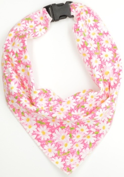 Pink Daisy Scarf (DO-PINKDAISYSCARF)