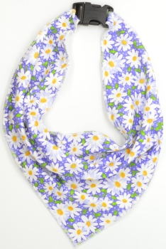 Purple Daisy Scarf (DO-PURPLEDAISYSCARF)