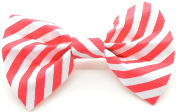 Red Stripe Bow Tie (DO-REDSTRIPEBOW)