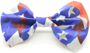 Texas Flag Bow Tie (DO-TEXASFLAGBOW)