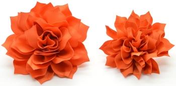 Orange Fluffy Flower (DO-FLUFFYORANGE)