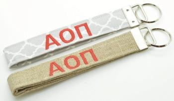 Alpha Omicron Pi Keychain (CU-AOPIKEY)