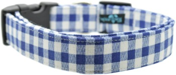 Blue Gingham Collar (DO-BLGNGH)