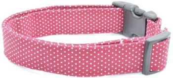Maroon Pin Dot Collar (DO-MRNPINDOT)