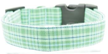 Green Plaid Collar (DO-GRNPLAID)