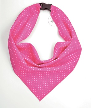 Pink Pin Dot Scarf (DO-PNDOTSCRF)