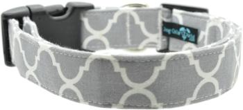 Gray Quatrefoil Collar (DO-GYQUAT)