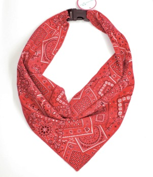Red Bandana Scarf (DO-REDBANDANASCRF)