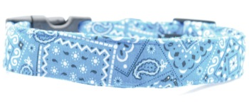 Blue Bandana Collar (DO-BLUEBANDANA)