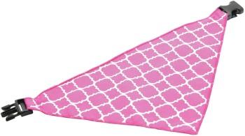 Pink Quatrefoil Scarf (DO-PNQUATSCRF)