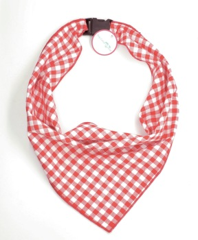 Red Gingham Scarf (DO-REDGINGHAMSCRF)
