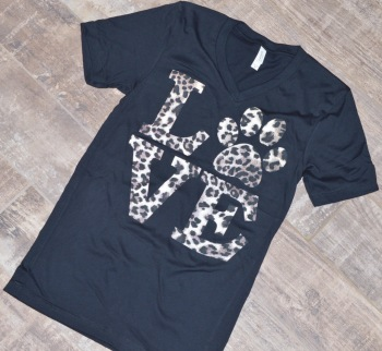 Love Leopard Print Shirt (DO-LOVESHIRT)