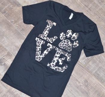 Love Leopard Print Shirt (DO-LOVESHIRT)