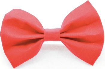 Solid Red Bow Tie (DO-REDBOW)