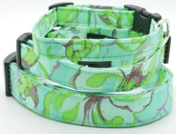 Aqua Flower Collar (DO-AQUAFLWR)