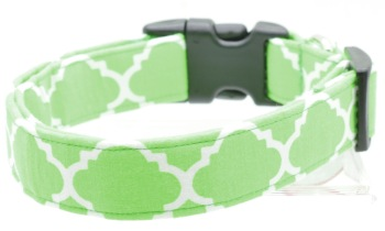 Green Quatrefoil Collar (DO-GREENQUAT)