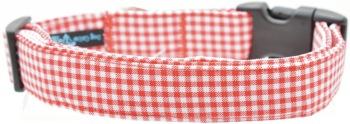Red Gingham Collar (DO-REDGING)
