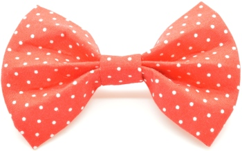 Red Pin Dot Bow (DO-REDPINBOW)