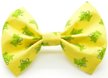 Yellow Frog Bow (DO-YLLWFROGBOW)