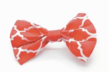 Red Quatrefoil Bow (DO-REDQUATBOW)