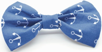 Blue Anchor Bow (DO-BLUEANCHORBOW)