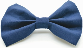 Solid Navy Bow (DO-NAVYBOW)