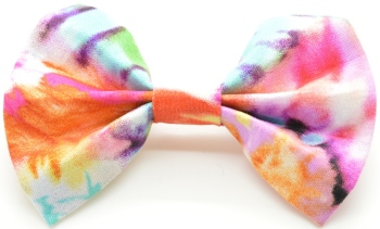 Tie Dye Bow (DO-TIEDYEBOW)