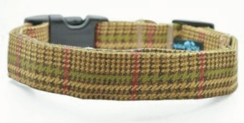 Brown Tweed Collar (DO-BRNTWEED)