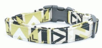 Black and Gold Aztec Collar (DO-BLAZTEC)