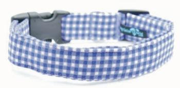 Mini Purple Gingham Collar (DO-MINIPRPLGING)