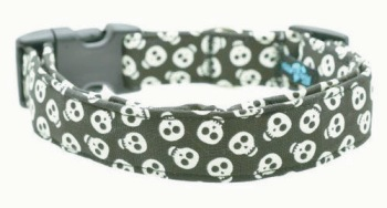 Glow in the Dark Skull Collar (DO-GLDKSKULL)