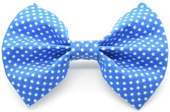 Royal Blue Stars Bow Tie (DO-ROYALSTARSBOW)