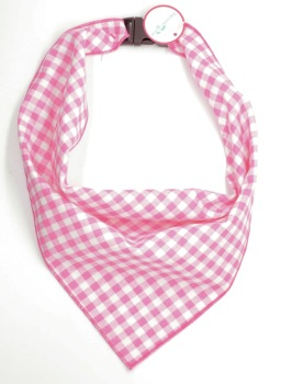 Light Pink Gingham Scarf (DO-LTPNKGINGSCRF)
